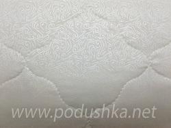 Подушка из бамбука (двухкамерная, в тике)
