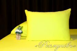 Купить желтые трикотажные наволочки на молнии в Перми
