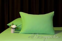 Купить зеленые трикотажные наволочки на молнии в Перми