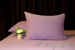 Купить лиловые трикотажные наволочки на молнии в Перми