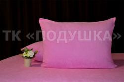 Купить розовые махровые наволочки на молнии в Перми