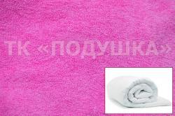 Купить розовый махровый пододеяльник  ТМ Подушка в Перми