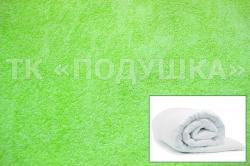Купить салатовый махровый пододеяльник  в Перми