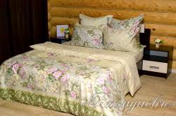 Купить постельное белье сатин «Римский дворик 1» {citys}